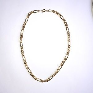 Curb Style Gold-tone Necklace 16 Inch